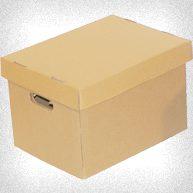 caja de carton archivo x 300 tapa y base