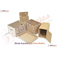 cajas de carton para archivo