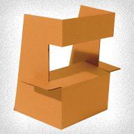 estructura en carton